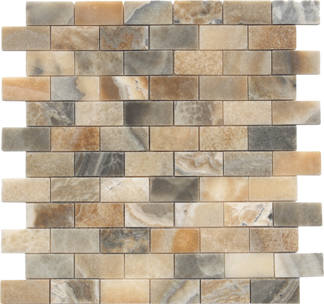 DOVER GREY ONYX HONED MOSAIC