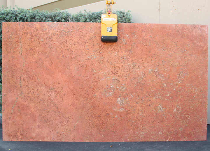 Rosso Sedona Cross-Cut Slabs